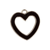 Heart shape pendant Royalty Free Stock Images