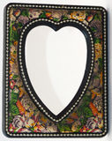 heart shape photo frame Royalty Free Stock Photography