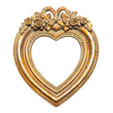 Heart Shape Picture Frame royalty free stock photos