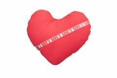 Heart shape pillow/Heart shape pillow Stock Image