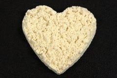 Heart shape Protein supplement stock photo