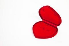 Heart shape  red box Stock Photo