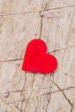 Heart shape on a rock. Royalty Free Stock Photo