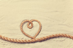 Free Heart Shape Rope Royalty Free Stock Photos - 50214468