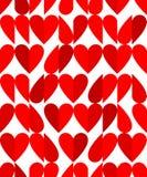 Heart shape seamless pattern Stock Images
