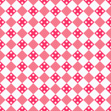 Heart shape seamless pattern. Pink color Royalty Free Stock Photography