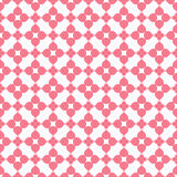 Heart shape seamless pattern. Pink color Stock Photos