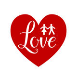 Heart shape sign Royalty Free Stock Photography