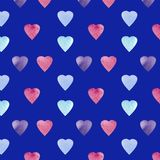 Heart shape symbol design. Colorfui Hearts pattern . Valentines Day seamless background. vector illustration