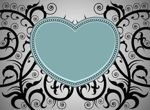 Heart shape tattoo art pattern Royalty Free Stock Photos