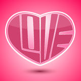 Heart shape Valentines Day Royalty Free Stock Photo