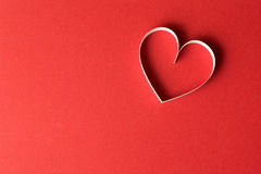 Heart shape for Valentines theme Stock Photography