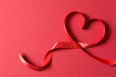 Heart shape for Valentines theme Stock Photos