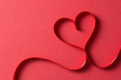 Heart shape for Valentines theme Royalty Free Stock Photo