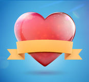 Heart shape Stock Images