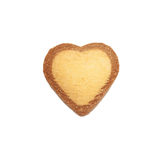 Heart shape xmas spice cake Stock Image