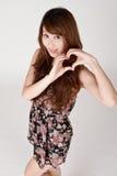 Heart shaped Stock Photography