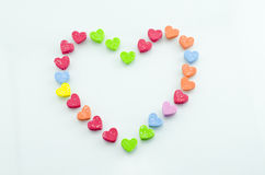 Heart-shaped. imagem de stock royalty free