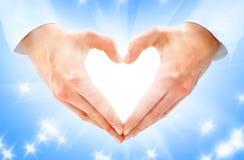 Heart-shaped fotografia de stock royalty free