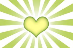 Heart Shaped Abstract Background Wallpaper Stock Photo