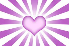 Heart Shaped Abstract Background Wallpaper Royalty Free Stock Images