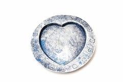Heart shaped ashtray Royalty Free Stock Images