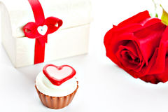 Heart shaped assorted Chocolate Royalty Free Stock Images