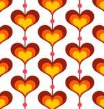 Heart shaped background Stock Image