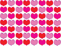Heart shaped background. Royalty Free Stock Photography