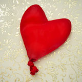 Heart-shaped balloon Royalty Free Stock Photos