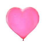 Heart shaped balloon Stock Image