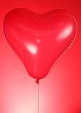 Heart shaped balloon Stock Photography