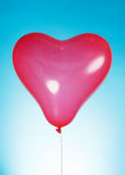 Heart shaped baloon Royalty Free Stock Photos