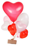 Heart shaped baloons Royalty Free Stock Photography