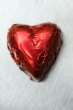 Heart shaped bonbon Royalty Free Stock Image