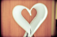 Heart shaped book Royalty Free Stock Image