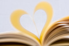 Heart Shaped Book. Stock Photography