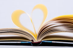 Heart Shaped Book. Royalty Free Stock Photography