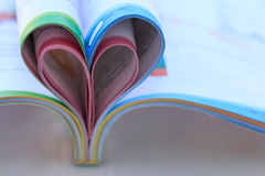Heart Shaped Book. Royalty Free Stock Image