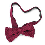 Heart-shaped bow tie Stock Photos