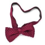 Heart-shaped bow tie Stock Photos