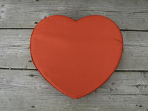 Heart shaped box Stock Image