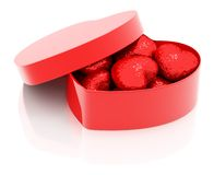 Heart Shaped Box Stock Photo