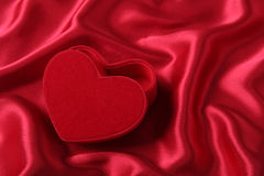 Heart Shaped Box Royalty Free Stock Photography