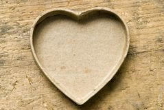 Heart-shaped box Royalty Free Stock Photos