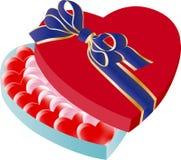 Heart shaped box royalty free stock photography