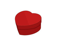 Heart-shaped box Royalty Free Stock Image