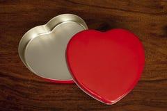 Heart shaped box Royalty Free Stock Photo
