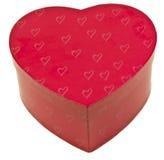 Heart Shaped Box Isolated Royalty Free Stock Photo