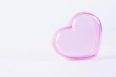 Heart Shaped Box. Pink Heart Shaped Box love Stock Image